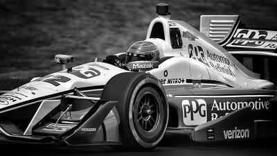 2016 Indy Car Qualifying at Mid-Ohio