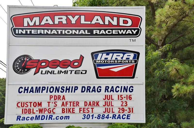 MARYLAND INTERNATIONAL RACEWAY - BUDDS CREEK, MD.<br /> 2016 PDRA NORTH-SOUTH SHOOTOUT.