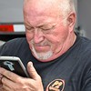 Some can build a drag race car (look at his fingers) but can't download an app....