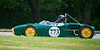 Nice-looking Lotus 18 entered by David Allison of Dunn, NC in practice; DNS