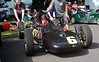 A family project; but unfortunately Zachary Tapolci of Eighty-Four, PA only got in six laps in his 1972 Caldwell D-13 FV while the winners turned 11.