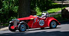 Michael Barstow from Napa, CA in ninth place; 1953 MG TD