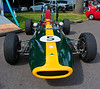 1968 Lotus Type 51 owned by Ed Luce of Ontario, Canada finished eighth in the Group 8 Formula Ford race.