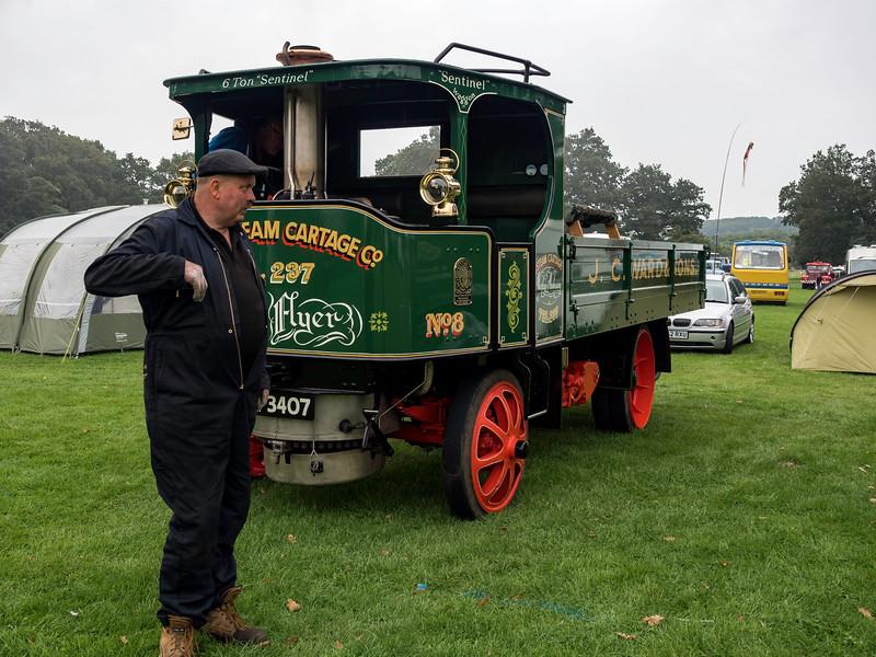 Sentinel Six Ton Steam Lorry