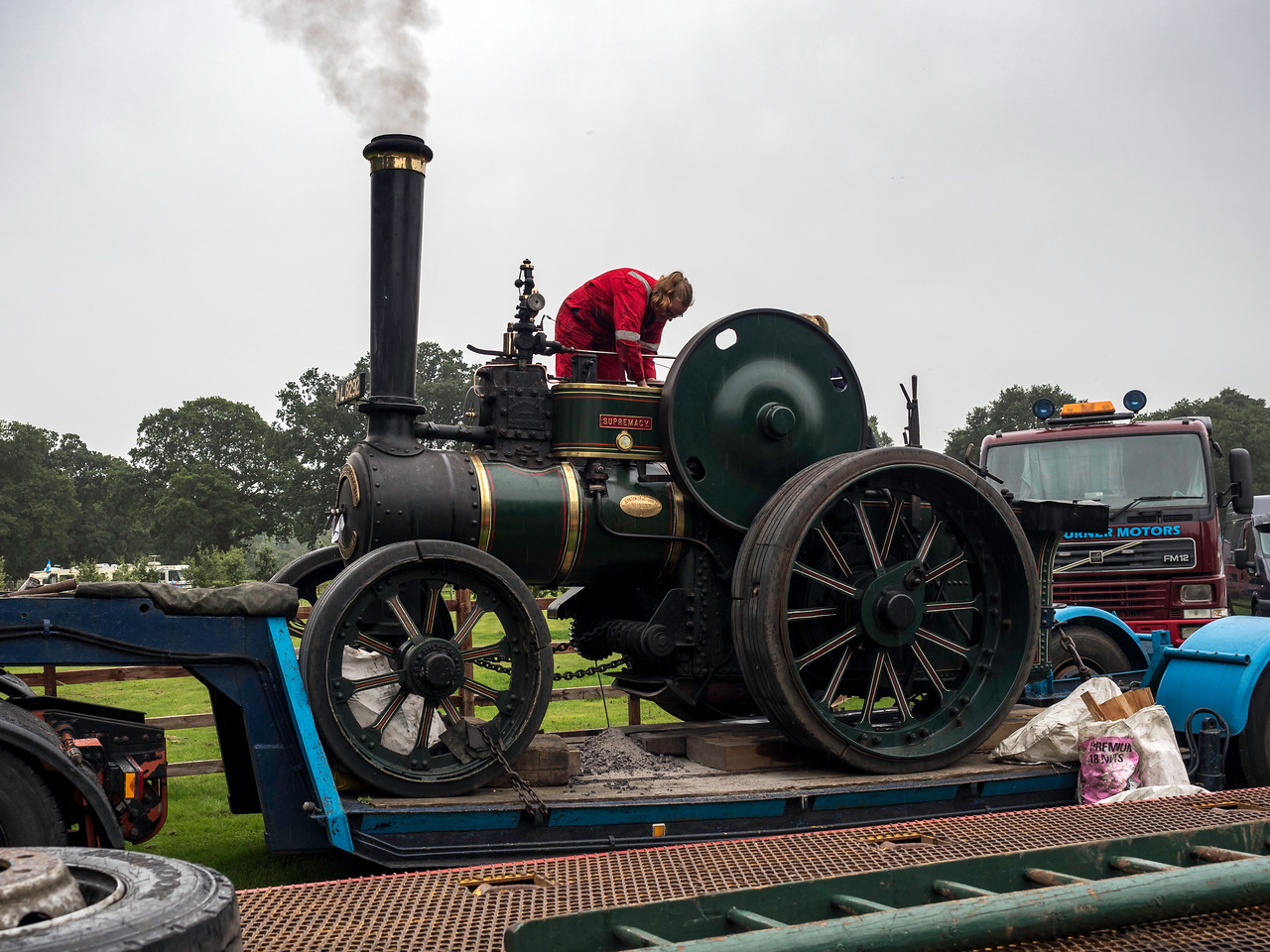 1924 Fowler General Purpose Engine 16289 'Supremacy'