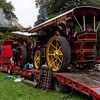 Traction Engines on Low Loader