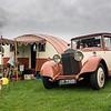 1933 Rolls Royce and Vintage Caravan