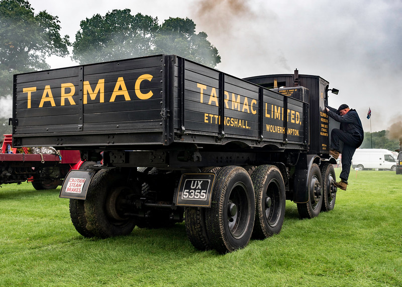 Sentinel Four-Axle Steam Lorry