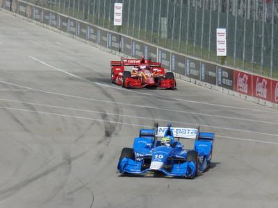 Indycar - Saturday Warm Up - Detroit Belle Isle Grand Prix - 4 June '16