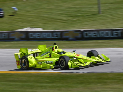 Indycar - Friday Practice 2 - Road America - 24 June '16