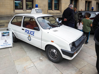 1980 Austin Mini Metro Police Car