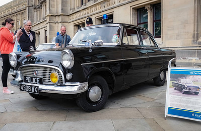 1960 Ford Consul Police Car