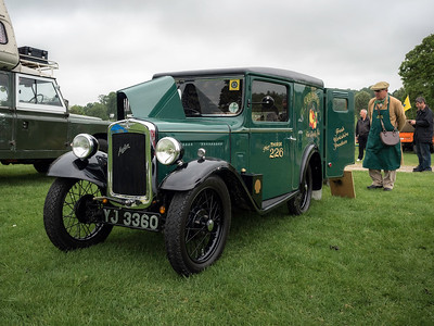 1936 Austin Seven Van