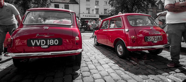 Two 1959 Austin Sevens