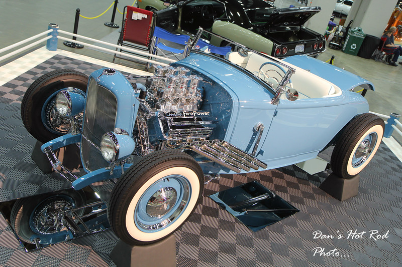 Chris Evans' 1931 Ford Roadster
