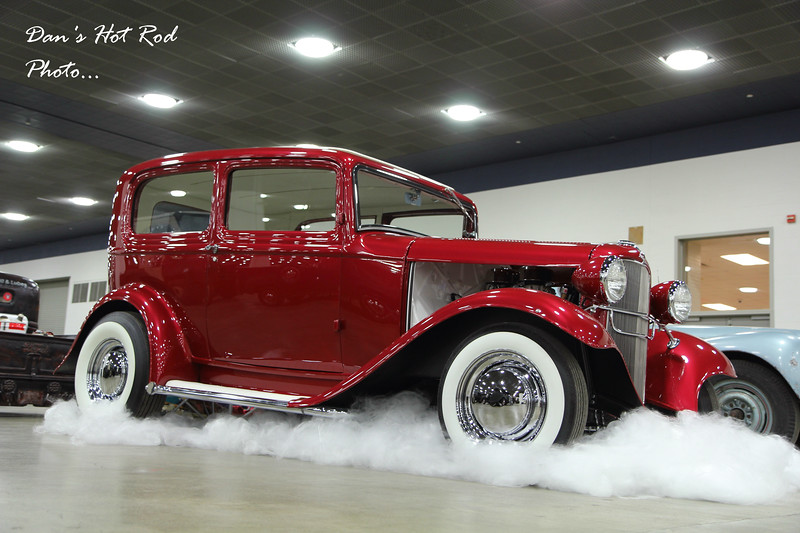 "Vern & Dave Gray's 1932 Ford Sedan the ""ElDorodder"""