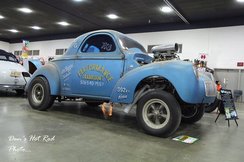 Bill Kellogg's 1940 Willys Coupe