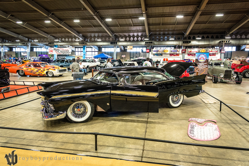 Jeff Myers brought Roy Putnam's 1957 Ford Fairlane