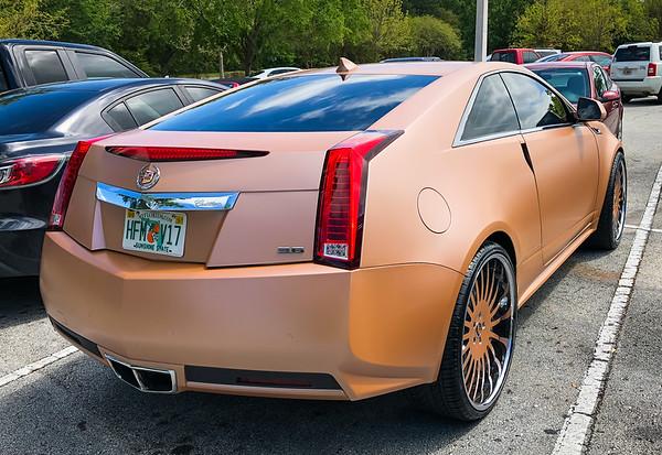 Cadillac at the Mall