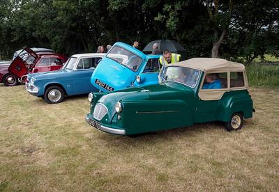 1958 Bond Minicar Mark D 'Deluxe Family Safety'