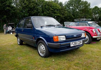 1989 Ford Fiesta 1.1 L CVT Auto