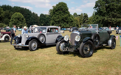 1935 Armstrong Siddeley 17 Sports Foursome and 1928/9 Bentley 4½ Litre Le Mans