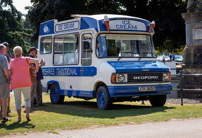 1982 Bedford CF Ice Cream Van