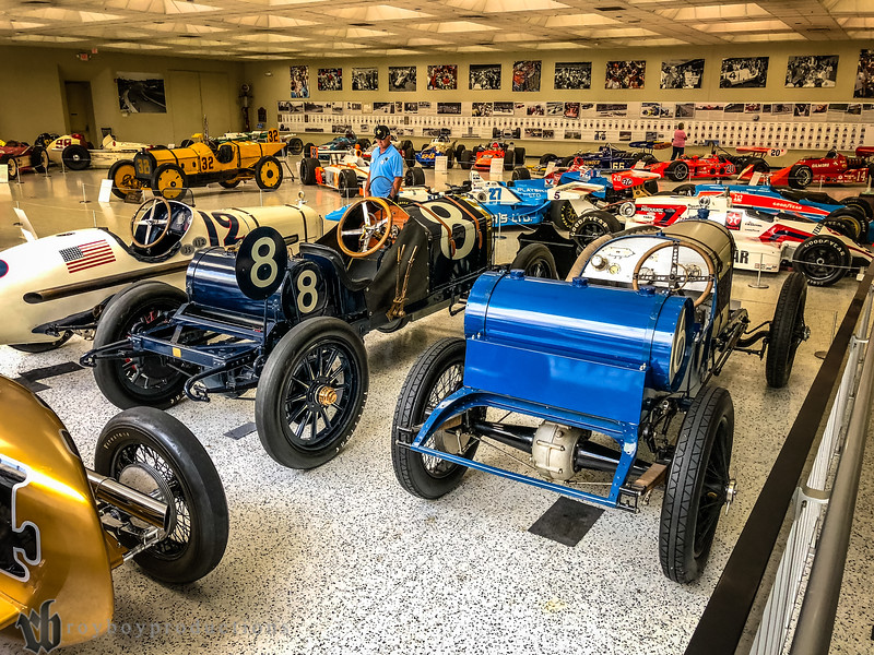 While Kevin plans some awesome adventures for Friday of each year's Indy trip, we had some in our friends that had never been to the Indianapolis Motor Speedway so we went over for a tour.