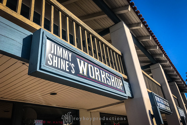 Next I went with some of my Lonely Knights family down to Orange, CA to Jimmy Shine