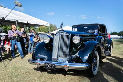 1937 Packard 1507 Twelve Coupe Roadster Best of Show