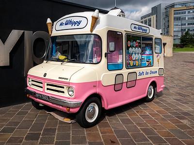 1973 Bedford CF Ice Cream Van