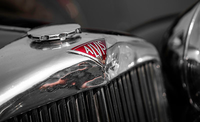 Alvis Radiator and Badge