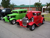 Husband (Green) and Wife's (red) hot rods.