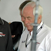 "Roger Penske, everytime I see Mr. Penske I think of what the tempermental Kurt Busch said at the Las Vegas NASCAR race when his pit crew made a mistake. He got very vocal over his radio and Roger told him, "" Everything would be ok if HE didn't blow-up."" Kurt came back on the radio and said, ""Okay, Dude!"""