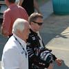 Roger Penske and his Verizom driver Romain Dumas