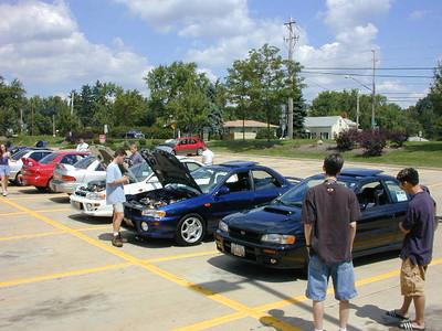 2.5RS Meet - August 2000