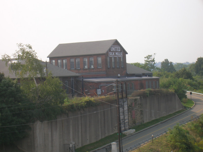 Old mill at the edge of Steamtown