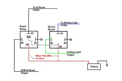 12volt relay diagrams