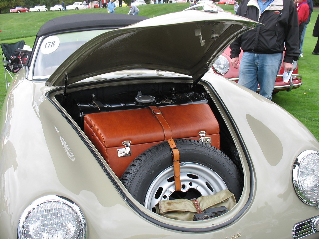 More Porsche designed luggage.