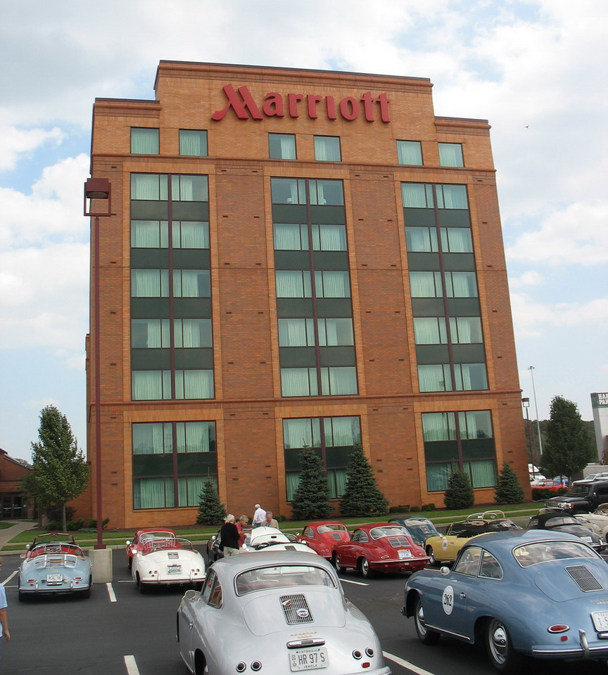 """The Marriott on Harvard Rd. east of Cleveland. comfortable hotel, but the staff wasn't very responsive. We never did get the complimentary newspapers they offered us unless we called down about them. There were other issues too.<br /> <br /> The history of the 356 model Porsches  - <br /> <a href=""""http://en.wikipedia.org/wiki/Porsche_356"""">http://en.wikipedia.org/wiki/Porsche_356</a><br /> <br /> <a href=""""http://www.356registry.org/History/"""">http://www.356registry.org/History/</a>"""