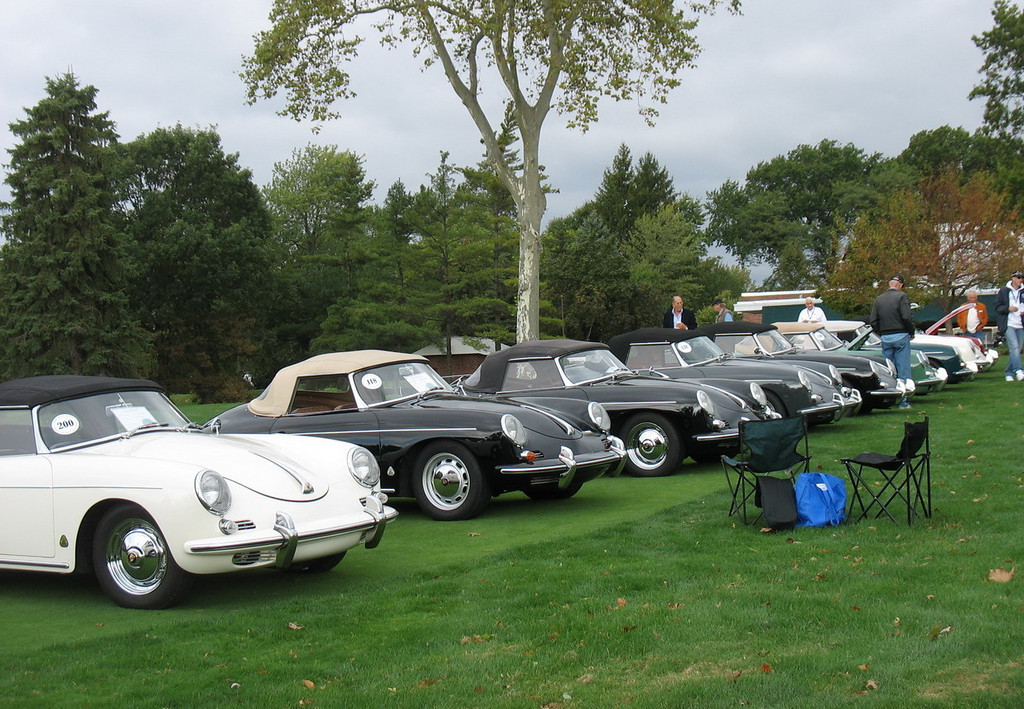 """In 1959, the 356B """"Roadster"""" convertible replaced the D model but the sports car market's love affair with top-down motoring was fading; soft-top 356 model sales declined significantly in the early 60s."""