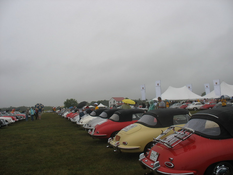These are 356C cabriolets.