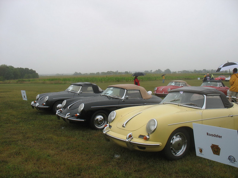 A row of Roadsters.