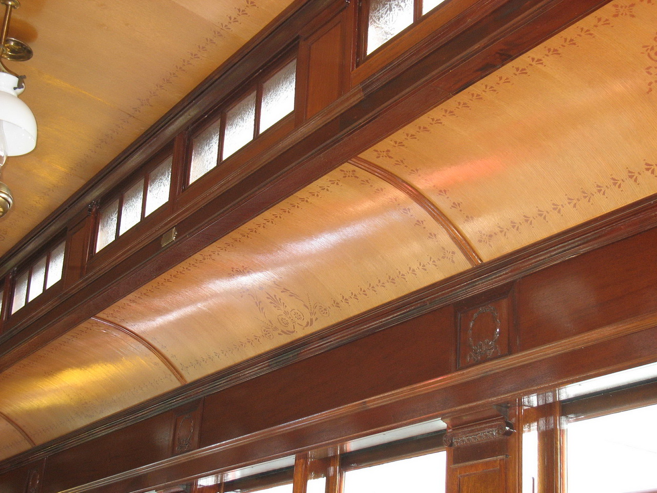 Detail of the train car