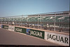 Silverstone F1 testing August 2000