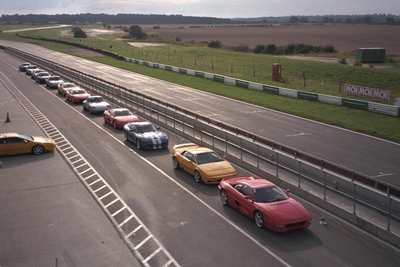 Snetterton race track September 1999
