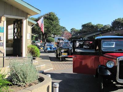 43rd Austin Bantam Society Tour, Pacific Grove