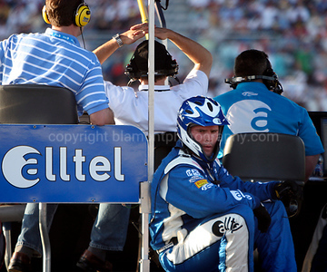 """""""Heres lookin atchu""""...He was much happier I'm sure after they won the race...Goodtimes I'm bettin...50th Daytona 500"""