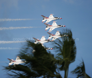 Incomming Thunderbirds