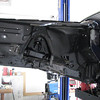 New undercoating;driver's side; inner front fender.